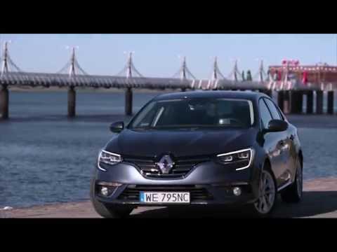 2016 New Renault MEGANE Sedan Exterior Design in Grey Trailer | AutoMotoTV