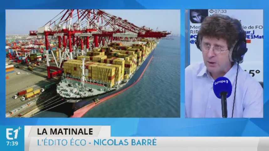 Illustration pour la vidéo La faible compétitivité coûte 0,5% de croissance à la France