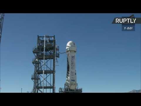Blue Origin's 'New Shepherd' Rocket Escape System Successfully Tested