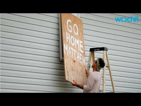 Coastal Residents Prepare for Hurricane Matthew