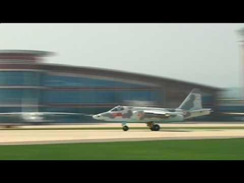 North Korea hosts air show
