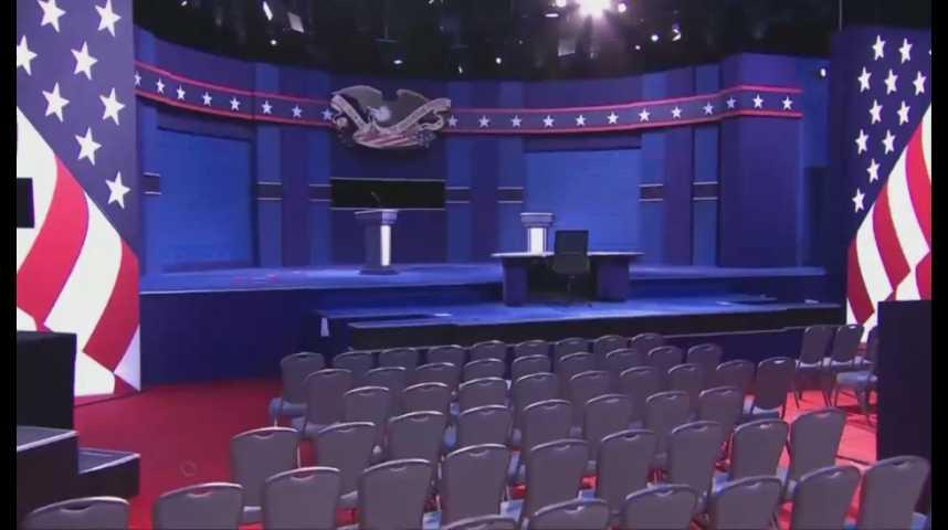 Illustration pour la vidéo Clinton-Trump, le face-à-face que tout le monde attend