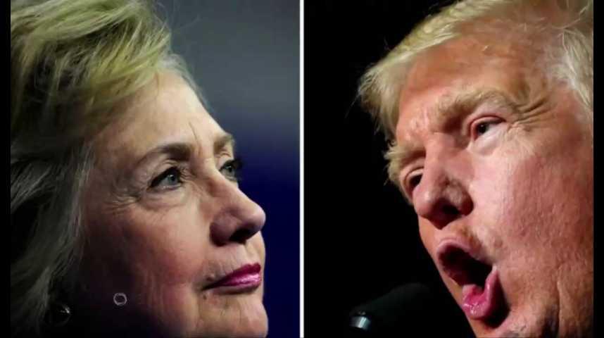 Illustration pour la vidéo Clinton-Trump : qui a remporté le premier débat ?