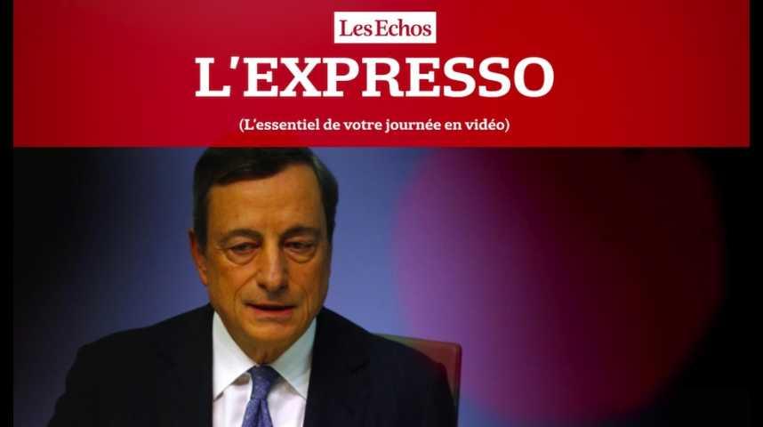 Illustration pour la vidéo L'Expresso du 8 septembre 2016 : BCE, les marchés dans l'attente des annonces de Mario Draghi...