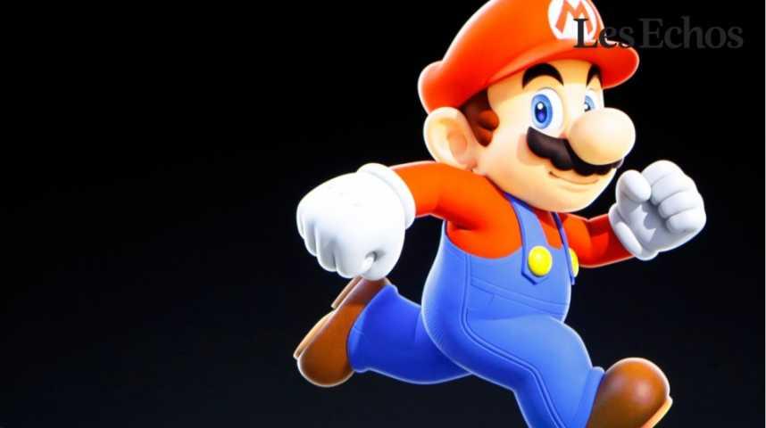 Illustration pour la vidéo Super Mario sur iPhone : l'action Nintendo bondit