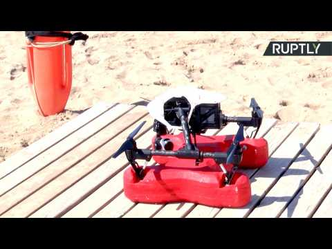 New 'Life Guard Drone' Saves Drowning Bathers in Under a Minute