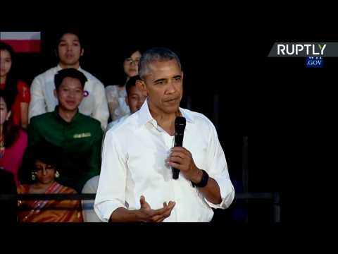 Obama Tries to Sell TPP Trade Agreement at ASEAN