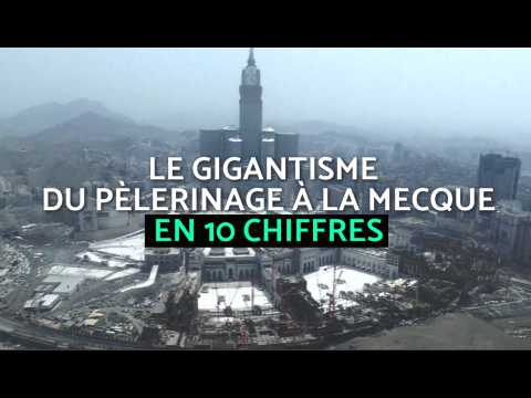 Le gigantisme du pèlerinage à la Mecque en 10 chiffres