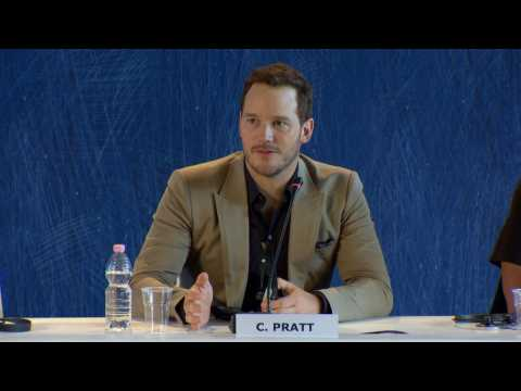 'The Magnificent 7' Venice Press Conference: Denzel Washington And Chris Pratt