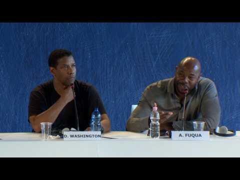 Denzel Washington, Antoine Fuqua Speak At Venice Film Festival