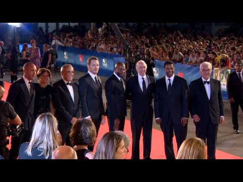 "Venice Film Festival ""Magnificent 7"" Red Carpet Highlights"