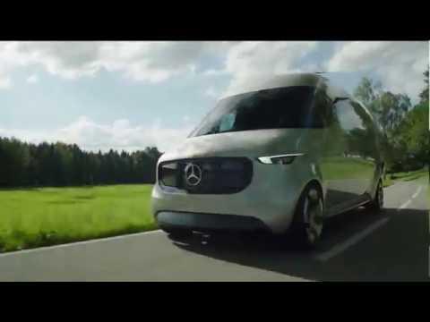 Mercedes-Benz Vision Van Driving Video Trailer | AutoMotoTV