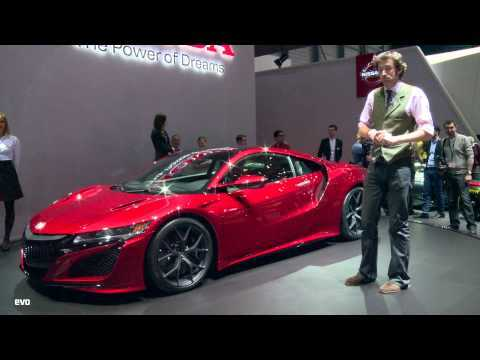 Honda NSX at Geneva 2015 | evo MOTOR SHOWS