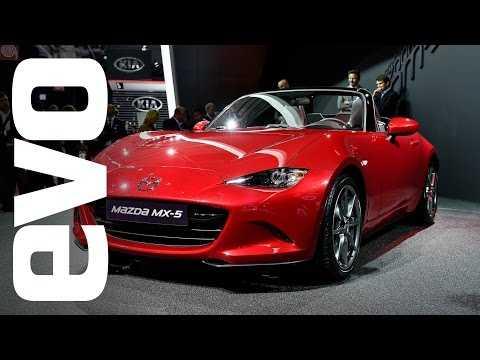 Mazda MX-5 at Paris 2014 | evo MOTOR SHOW