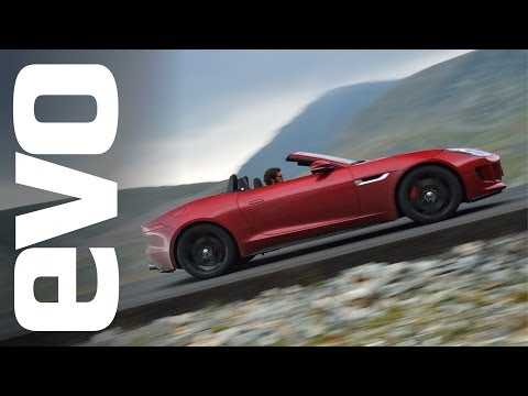 The greatest driving road in the world? Jaguar F-type V8 S in Romania | evo