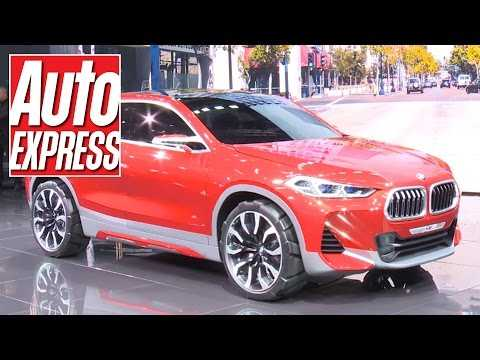 BMW X2 Concept at Paris 2016: bold coupe-SUV fills another niche