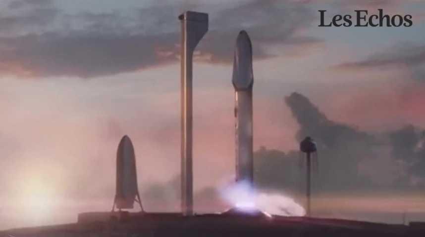 Illustration pour la vidéo Le projet d'Elon Musk pour coloniser Mars