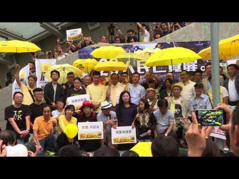 Hong Kong marks 2nd anniversary of 'Umbrella Revolution'