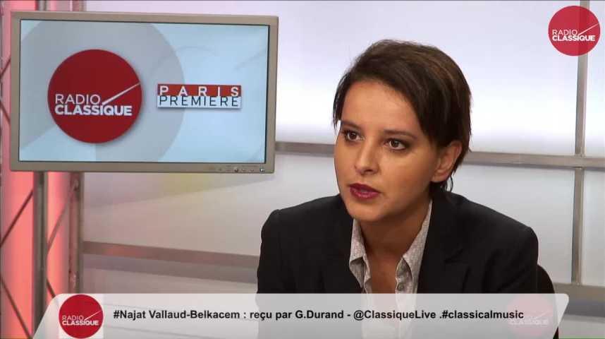 """Illustration pour la vidéo """"François Hollande est président, il ne peut pas être un  candidat comme les autres"""" Najat Vallaud Belkacem Partie 1 (29/09/16)"""