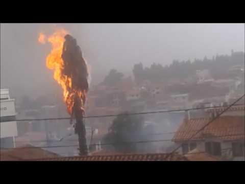 Torrential storms wreak havoc in Bolivia
