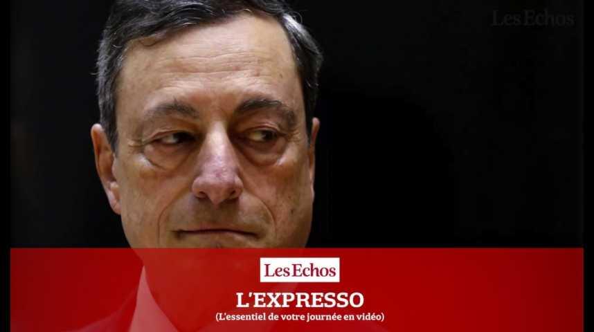 Illustration pour la vidéo L'Expresso du 6 octobre 2016 : la BCE va publier son compte-rendu de politique monétaire...