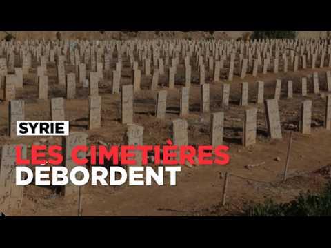 En Syrie, les cimetières débordent