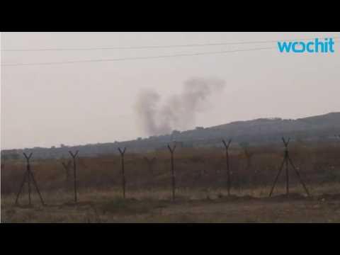 Shells Hit Turkish Border Town Kilis