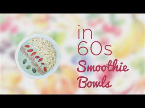 How to in 60 seconds: Dragon fruit smoothie bowl