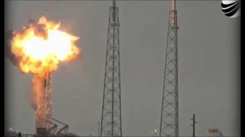 Illustration pour la vidéo SpaceX : nouvelle explosion d'une fusée Falcon 9