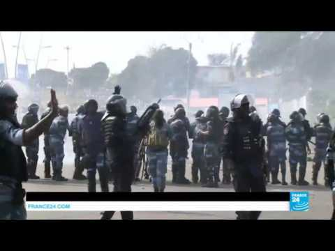 Gabon: violent clashes erupt between protesters and police after Ali Bongo's re-election