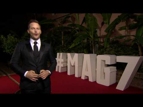 Chris Pratt On The Venice Red Carpet About 'The Magnificent 7'