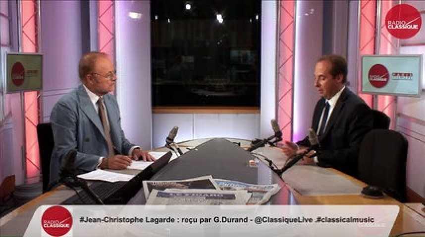 """Illustration pour la vidéo """"Nicolas Sarkozy dit aujourd'hui des centristes que ça ne ressemble à rien"""" Jean-Christophe Lagarde"""