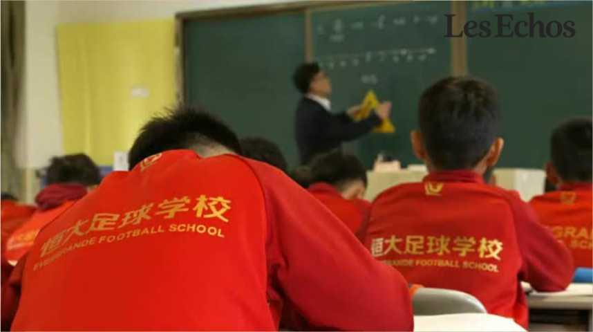 Illustration pour la vidéo Le grand bond en avant du foot chinois