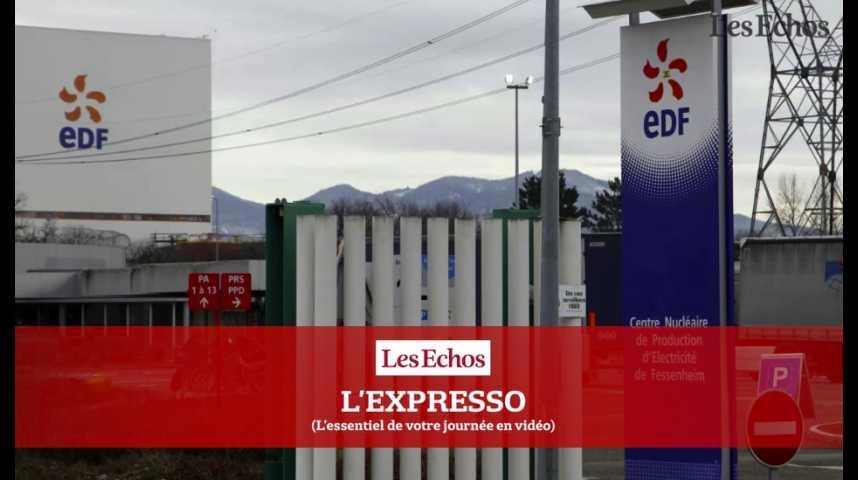 Illustration pour la vidéo L'Expresso du 14 septembre 2016 : EDF, journée de mobilisation contre la fermeture de Fessenheim...