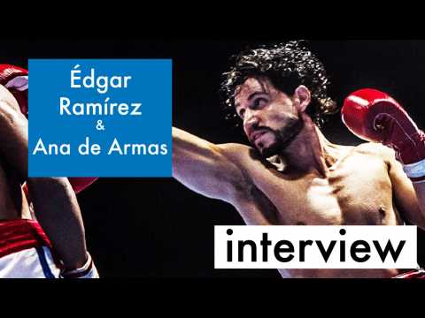 Edgar Ramirez and Ana de Armas on Real Life Love in 'Hands of Stone'