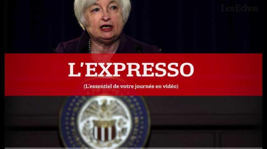 Illustration pour la vidéo L'Expresso du 26 août 2016 : les marchés suspendus au discours de Janet Yellen à Jackson Hole...