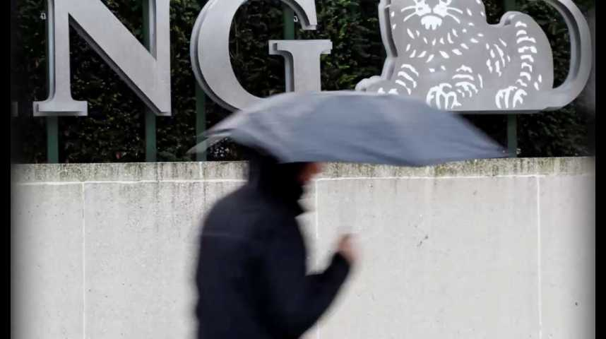Illustration pour la vidéo Digitalisation, taux d'intérêt bas... ING va supprimer 7 000 emploi