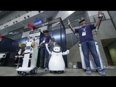 CEATEC, Asia's largest electronics fair, opens in Tokyo