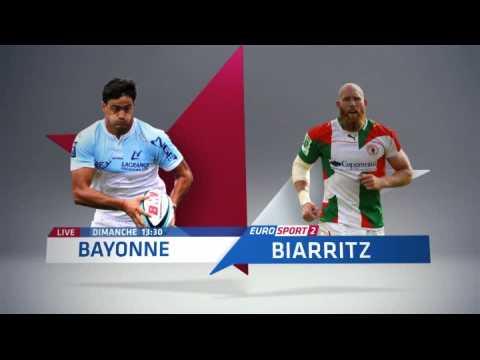 rugby pro d2 bayonne biarritz en direct sur eurosport 2 sur orange vid os. Black Bedroom Furniture Sets. Home Design Ideas