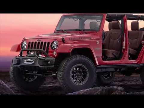 Jeep® Wrangler Red Rock Concept Preview | AutoMotoTV