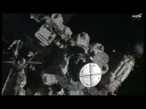Astronauts conduct spacewalk to repair ISS