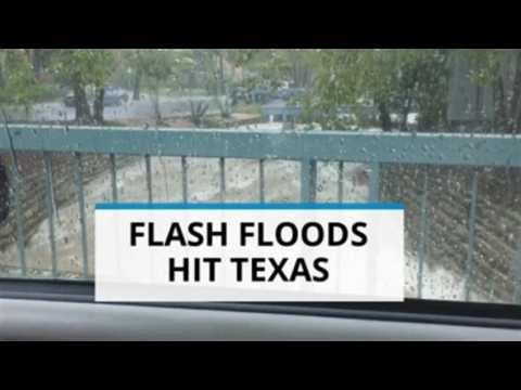 Central Texas hit with torrential rain and floods AGAIN