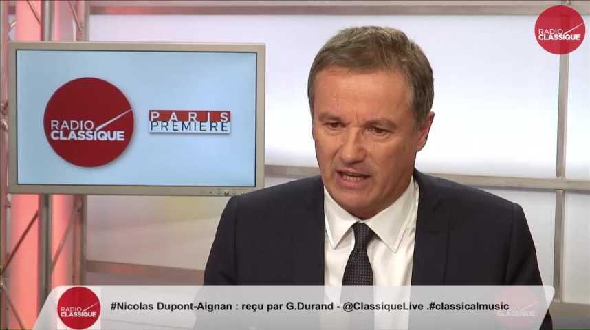 """Illustration pour la vidéo """"La Sécurité Sociale coûte moins cher en frais de gestion que des mutuelles"""" Nicolas Dupont-Aignan (13/12/2016)"""