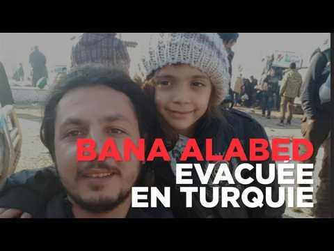 La jeune syrienne Bana Alabed saine et sauve en Turquie après son évacuation d'Alep-Est