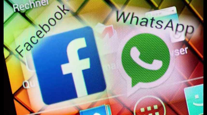Illustration pour la vidéo Rachat de WhatsApp : Facebook a-t-il menti