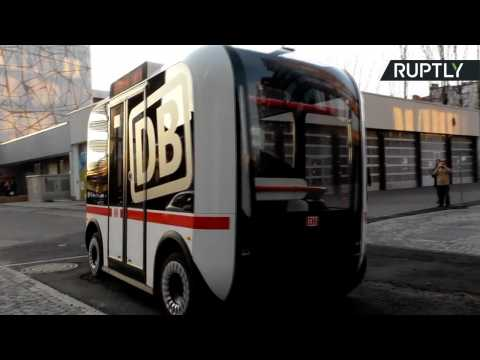 'Olli' the Self-Driving Bus Makes First Autonomous Journey in Berlin