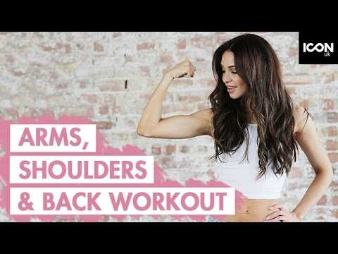 Workout: TONE + SHAPE Arms, Shoulders and Back | Danielle Peazer Compilation