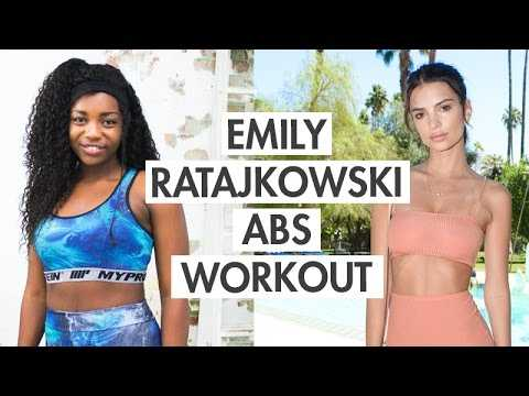 Emily Ratajkowski Inspired Belly Fat Burning + Flat Stomach Workout | Scola Dondo