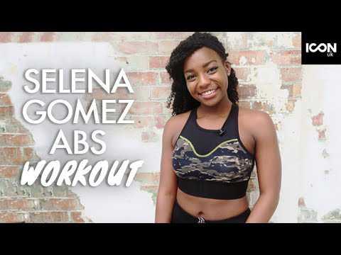 Selena Gomez Inspired Abs / Flat Stomach Workout | Scola Dondo
