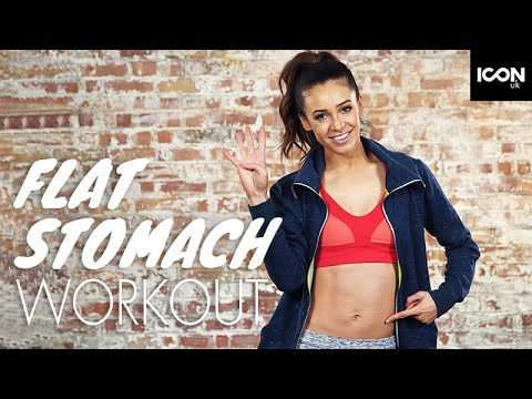 Workout: Top 4 Exercises For A Flat Stomach | Danielle Peazer